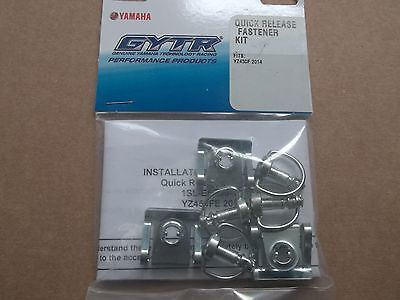 GYTR Quick Release Air Box Hardware Fastener Kit Yamaha YZ250F YZ450F YZ 250 450