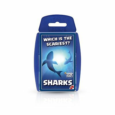 Sharks Top Trumps Card Game New Sealed