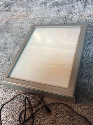 DSA Store business display case light box menu movie advertisement 18 x 22 x 4