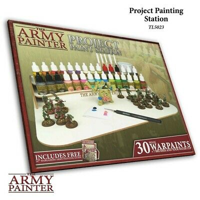 Project Paint Station The Army Painter Brand New AP-TL5023