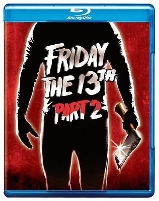 Blu Ray FRIDAY THE 13TH PART 2. Region free. New sealed.