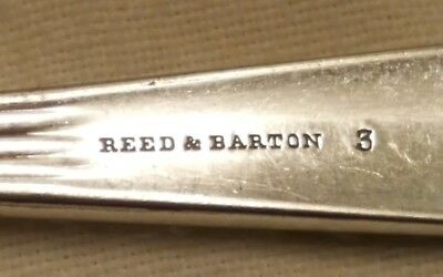 Vintage Reed & Barton Butter Knife, Rare, Look At The Date!!!