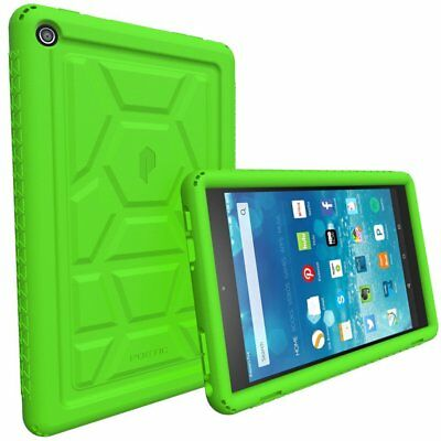 Poetic For Amazon Fire HD 8 Rugged Case [TurtleSkin Series] Shockproof Cover GN