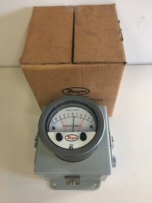 Dwyer A3310 New Series 3000 Photohelic Pressure Switch/gage A3310-Wp New In Box