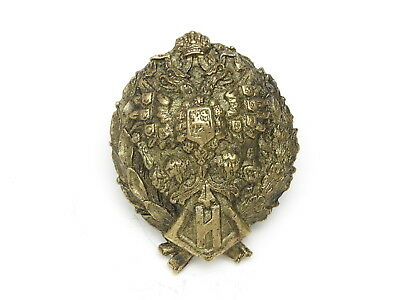 Russian Imperial Double Headed Eagle Badge Order Jetton Czar Tsar of Russia