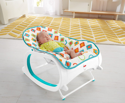 Rocker Bouncer Seat Baby Chair Sleeper Swing Toy Portable Infant to Toddler Toy