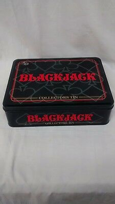 2005 LIMITED EDITION BLACKJACK COLLECTORS TIN Awesome Condition