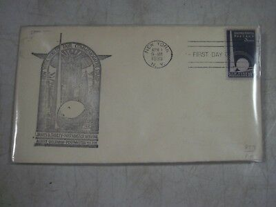 Vintage Antique April 1st 1939 First Day Of Issue New York Worlds Fair Envelope