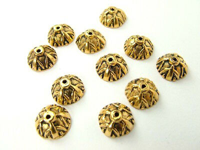Bead Cap - Gold Plated 9mm - Pack of 20pc - AUST SELLER - BEADS & TOOLS