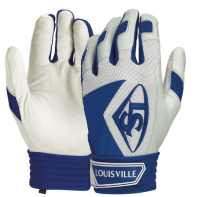 Louisville Slugger Series 7 Adult Baseball batting gloves - Royal Blue