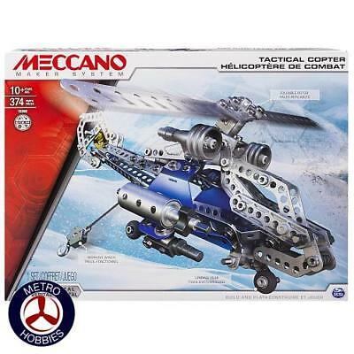 Meccano Tactical Copter M6024816 Brand New