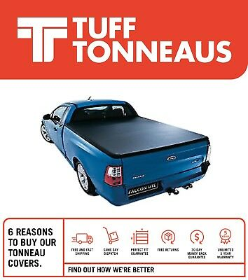 Ford Falcon FG Ute Clip On Tonneau Cover June 2008 to July 2016