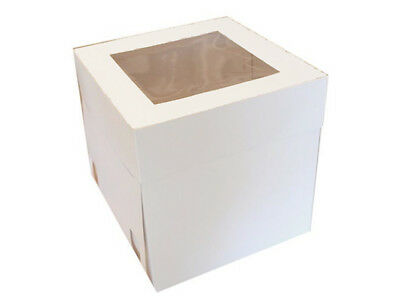CAKE BOXES 10x10x12 Inches 10 PK Bulk Buy Cupcake Boxes Cake Boards FOOD GRADE