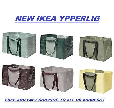 IKEA YPPERLIG Large Reusable Eco Shopping/Laundry/Tote/Travel Bags Free Shipping