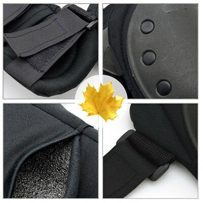 4Pcs Knee Elbow Wrist Protective Pads Set Cycling Tactical Protector Gear