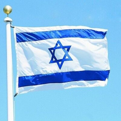 3x5 feet ISRAEL National FLAG Jewish Star Magen David Israeli Country Banner
