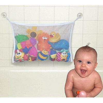 Kids Baby Bath Toy Tidy Storage Bag Cup Mesh Bathroom Organiser Net NEW