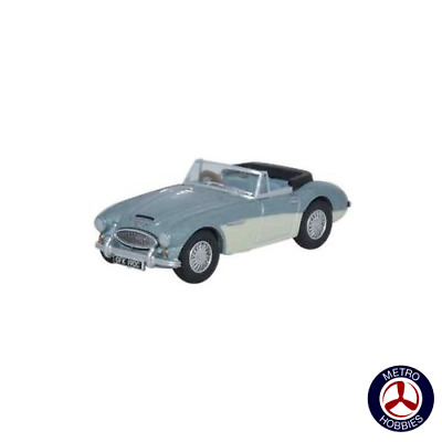 Oxford 1/76 Austin Healey 3000 Blue/Ivory 76AH3001 Brand New