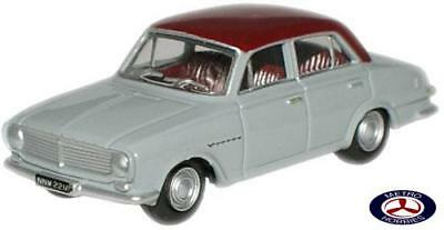 Oxford 1/76 Vauxhall FB Victor Venom Red/Gull Grey 76FB001 Brand New