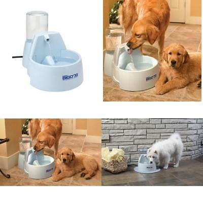 Drinkwell Stainless Steel Multi Pet Dog and Cat Water Fountain 128 Ounces New