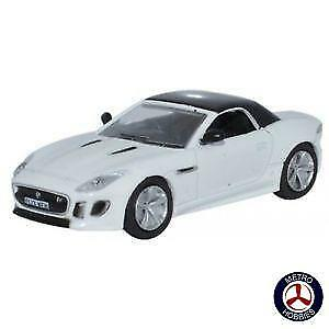 Oxford 1/76 Jaguar F Type Polaris White 76FTYP002 Brand New