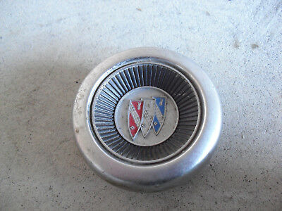 """Vintage 1960s Cadillac Car Horn Button Cover 2 3/4"""" Wide"""