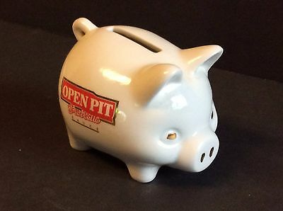 OPEN PIT Barbecue Sauce China Piggy Bank  Campbell's Soup Company Related Item
