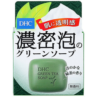 [DHC] Natural Green Tea Anti-Oxidant Facial Bar Soap 60g JAPAN NEW