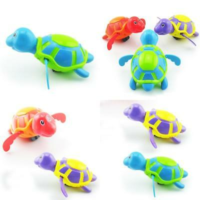 New Wind-up Swimming Turtle Animal Toy Child Baby Kids Bath Time Clockwork Float