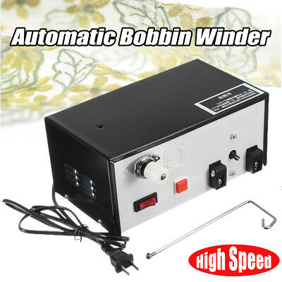 220V High Speed Automatic Bobbin Winder For Bobbin Winding Sewing Machines