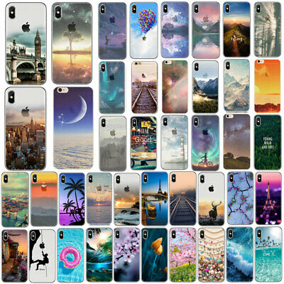 For IPhone 7 8 PLUS X 5 6 6S Ultra Thin Soft Silicone Phone Cover Case Back Skin