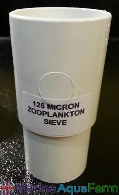 125 Micron Zooplankton Stackable Sieve, Rotifers, Brine Shrimp, Copepods, Marine