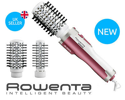 Rowenta Rotating Brush CF9421 Hot Air Brush Active Nano Smart /Hair dryer