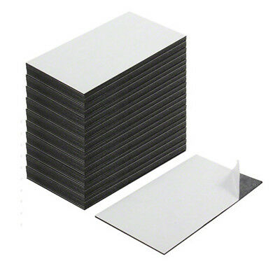 Business Card Magnets - Adhesive front & magnetic on the back (Pack of 500)