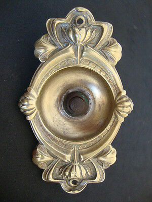 Bronze Door Bell Push Button !!! Antique ART NOUVEAUFREE SHIPPING WORLDWIDE