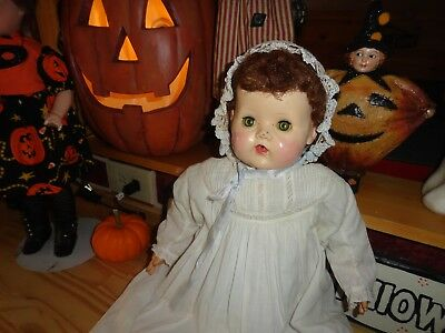 tiny tears large antique gown 22 vintage doll