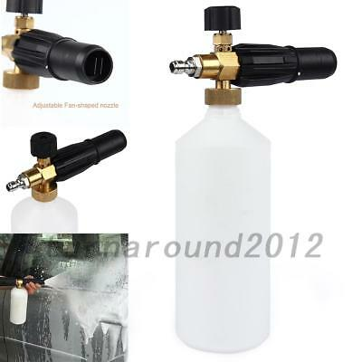 Useful Snow Foam Lance Washer Car Wash Gun Soap Pressure Washer Bottle