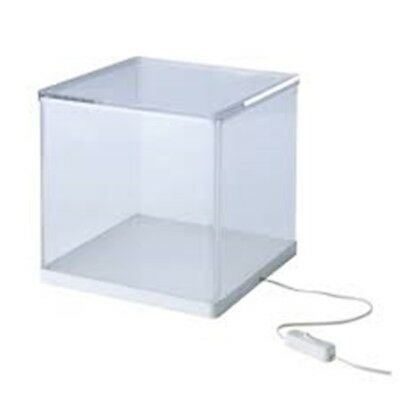 IKEA SYNAS LED Light Display Box Clear Model Showcase Show Case NEW UK