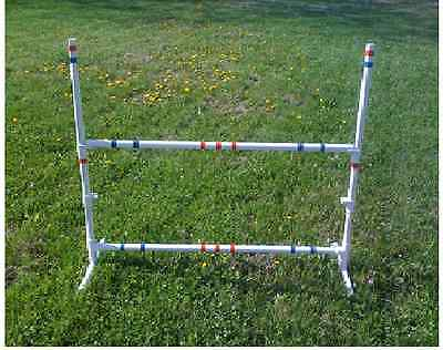 2 Dog Agility Equipment Training Bar Jumps w/ FREE U.S SHIPPING