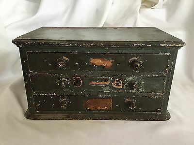 Antique Watch / Clock Makers Cabinet