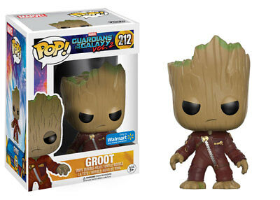 GUARDIANS OF THE GALAXY 2 Figurine BABY GROOT JUMPSUIT 212 EXCLUSIVE  FUNKO POP