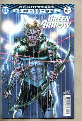 Green Arrow #16-2017 nm 9.4 DC Rebirth Variant cover Neal Adams