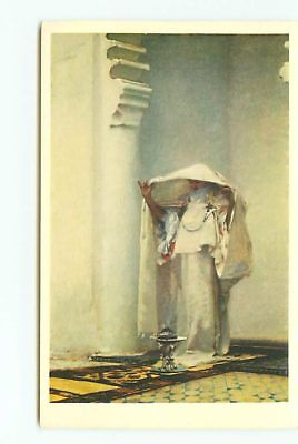 old Vintage Postcards Sargent Oriental Young Lady # 1915A