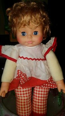 """Goldberger EEG EE  Lullaby And Goodnight Melody Swaying Doll 14"""""""
