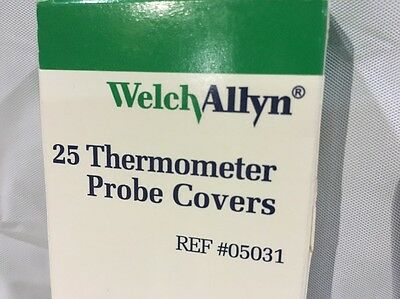 Welch Allyn Oral Disposable Thermometer Probe Covers 05031 Qty 25 per box