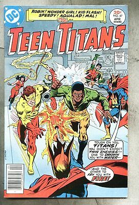 Teen Titans #47-1977 fn+ Irv Novick Two-Face