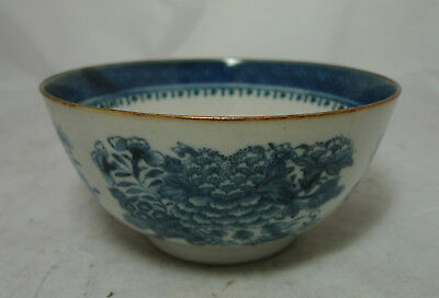 Antique Chinese? Blue & White Fitzhugh Pattern Bowl A630517