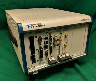 National Instruments NI PXI-1042 System | PXI-8176 | PXI-5411 | PXI-5620