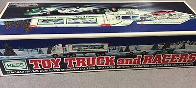 1997 Hess Toy Truck and Racers **Unopened-NEW**
