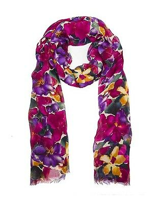 Patricia Nash Blooming Romance Vintage Scarf Wrapped Nwt Viscose
